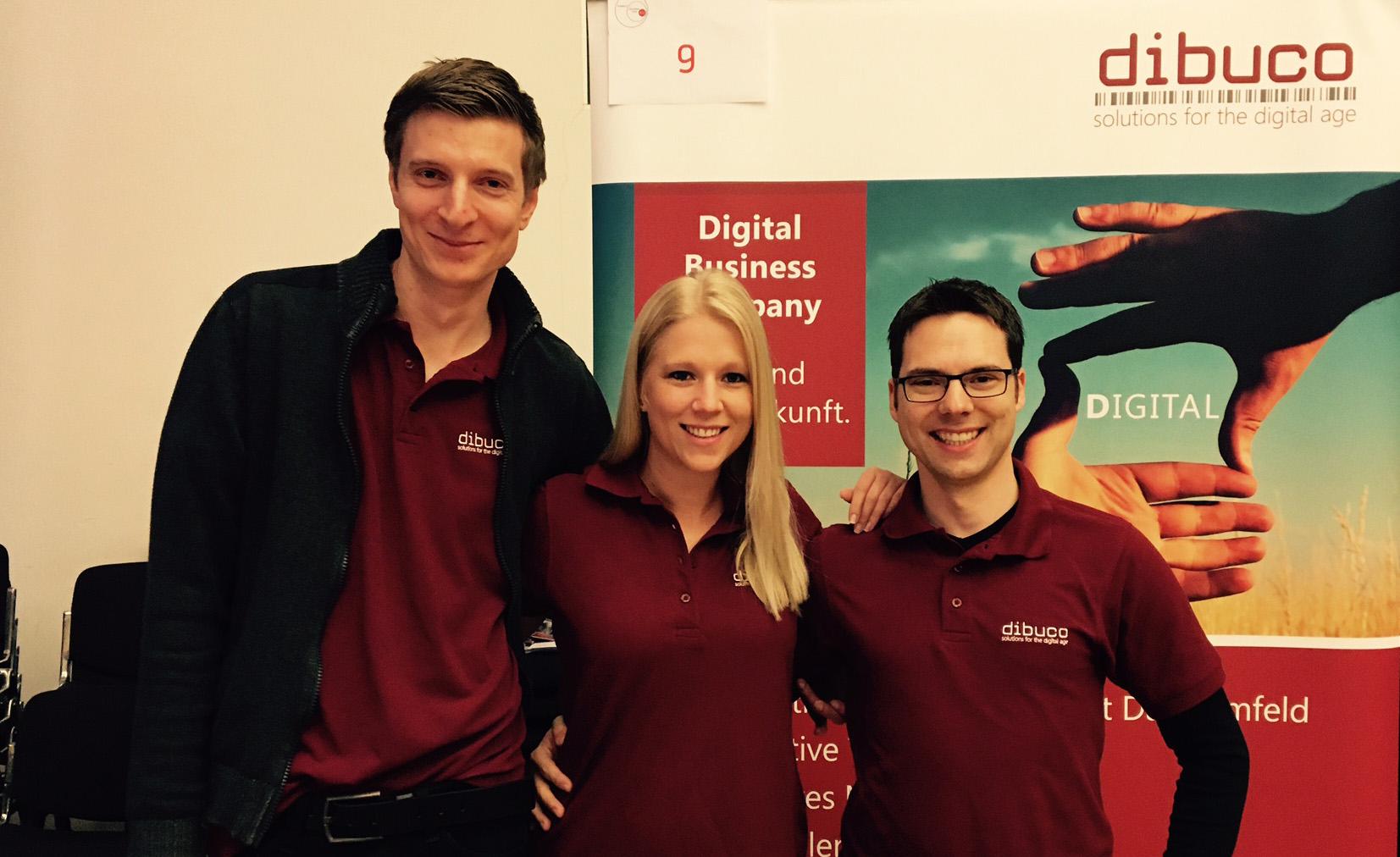 dibuco berät Nachwuchskräfte zum Thema Job und Karriere auf Recruitingmessen in Stuttgart